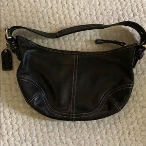 Coach leather purse